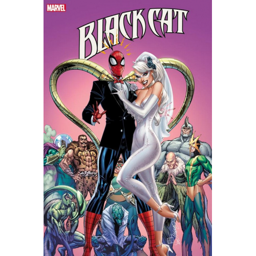 Black Cat Annual 1 (VO) J. Scott Campbell Cover