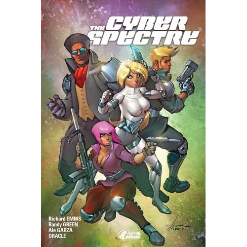 Cyber Spectre tome 1 (VF) Edition Classique - 400 Exemplaires - Signé et Dédicacé par Thomas Rivière