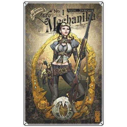 Lady Mechanika – Tome 1 (VF) Signé et Dédicacé par Thomas Rivière