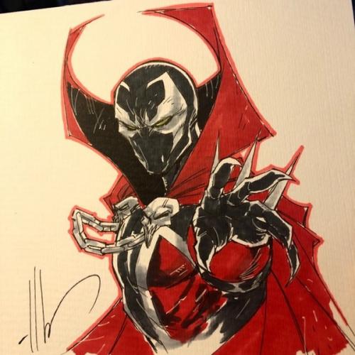 Dessin Original : Amazing Spider-Man par Ale Garza