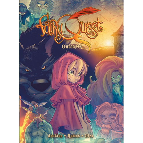FAIRY QUEST VOL 2 HC Outcasts (VO) occasion