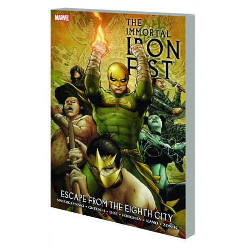 IMMORTAL IRON FIST TP VOL 05 ESCAPE FROM EIGHTH CITY (VO) occasion