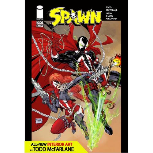 SPAWN 302 (VO) TODD McFARLANE COVER