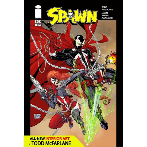 SPAWN 302 (VO) TODD McFARLANE COVER