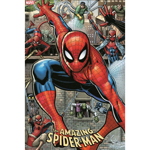 AMAZING SPIDER-MAN 32 ART ADAMS 8 PART CONNECTING VAR (VO)