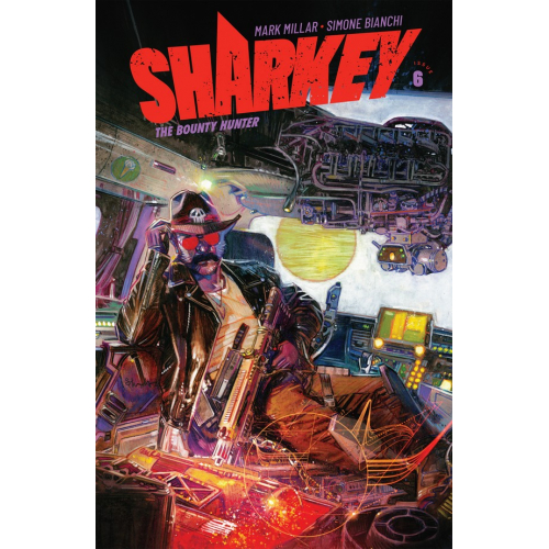 SHARKEY BOUNTY HUNTER 6 (OF 6) CVR C EDWARDS (VO) MARK MILLAR - SIMONE BIANCHI