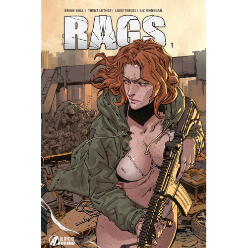 RAGS tome 1 EDITION COLLECTOR 250 Ex (VF)