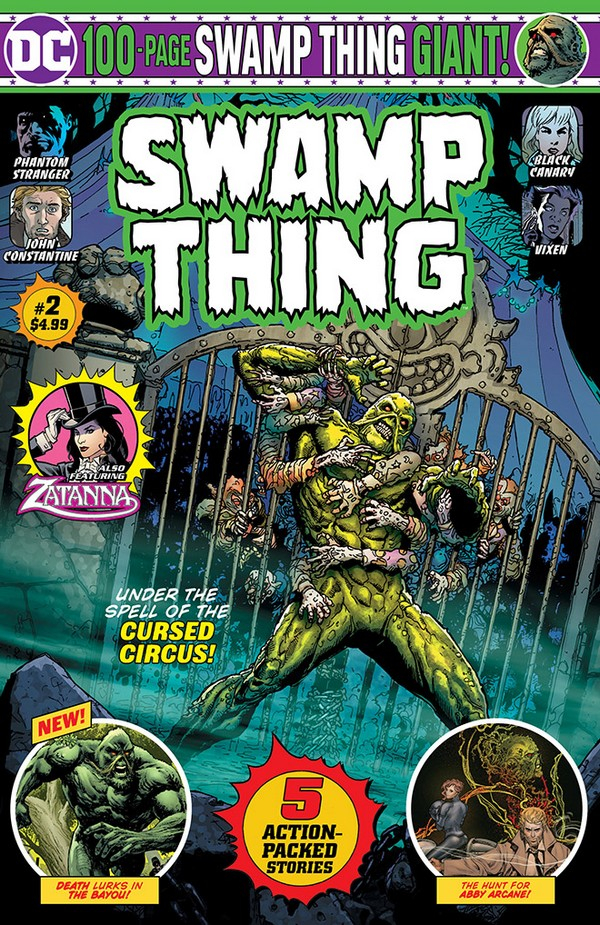 SWAMP THING GIANT 2 (VO)