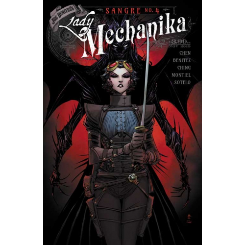 Lady Mechanika : Sangre 4 (VO) Couverture B