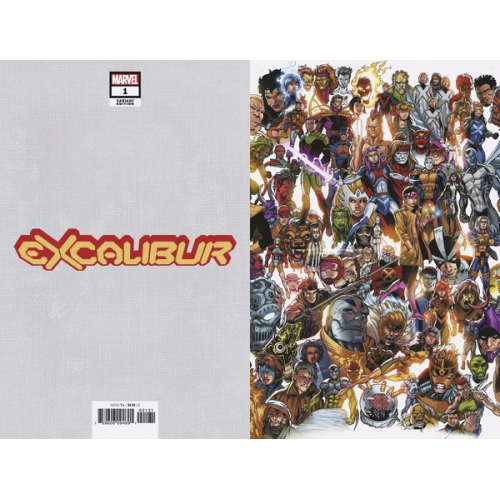 EXCALIBUR 1 BAGLEY EVERY MUTANT EVER VAR (VO)