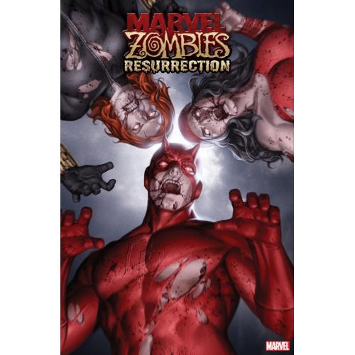 MARVEL ZOMBIES RESURRECTION 1 JUNGGEUN YOON VAR (VO)