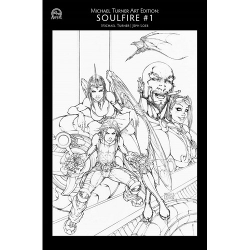 Michael Turner Art Edition : Soulfire 1 (A)