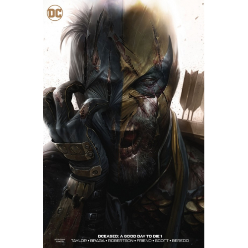 DF DCEASED A GOOD DAY TO DIE 1 ROBERTSON SGN MATTINA VAR (VO) Signé par Darick Robertson