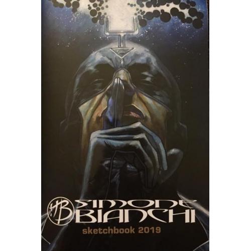 Simone Bianchi Sketchbook 2018 (Signé)
