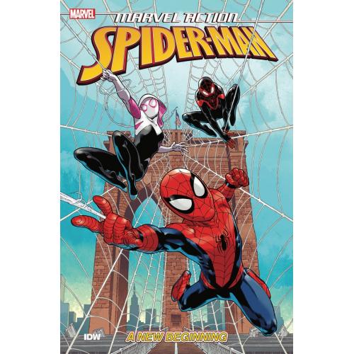 MARVEL ACTION SPIDER-MAN TP BOOK 01 NEW BEGINNING (VO)