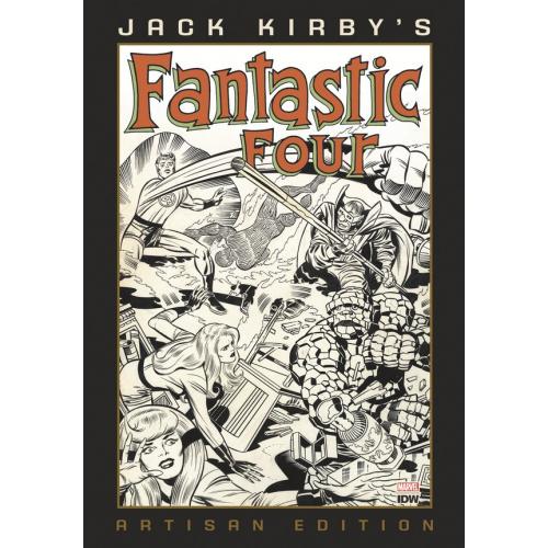 JACK KIRBY FANTASTIC FOUR ARTISAN ED HC (VO)