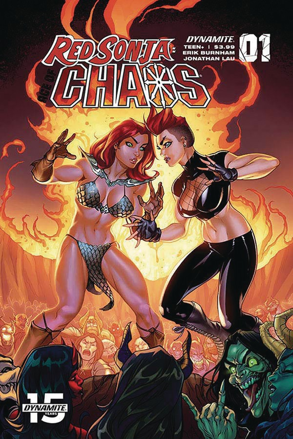 RED SONJA AGE OF CHAOS 1 CVR D GARZA (VO)