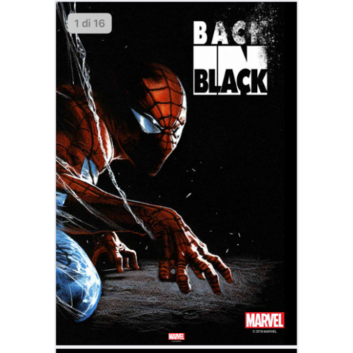 Gabrielle Dell'Otto Back in Black Sketchbook Hardcover (VO) Signé
