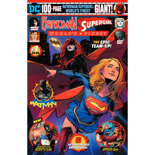BATWOMAN SUPERGIRL WORLDS FINEST GIANT 1 (VO)