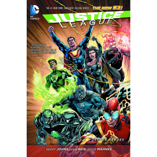 JUSTICE LEAGUE TP VOL 05 FOREVER HEROES (N52)(VO) occasion