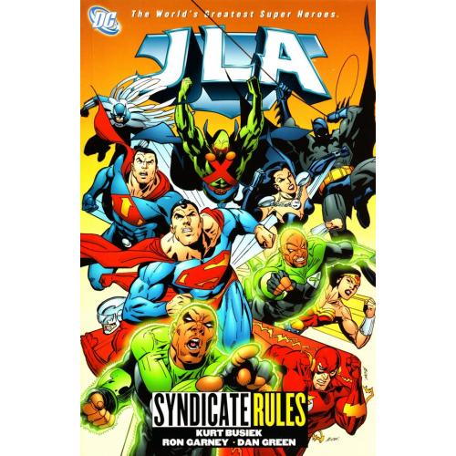 JLA TP VOL 17 SYNDICATE RULES (VO)