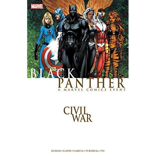 CIVIL WAR BLACK PANTHER TP (VO) occasion