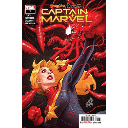 ABSOLUTE CARNAGE CAPTAIN MARVEL 1 (VO)