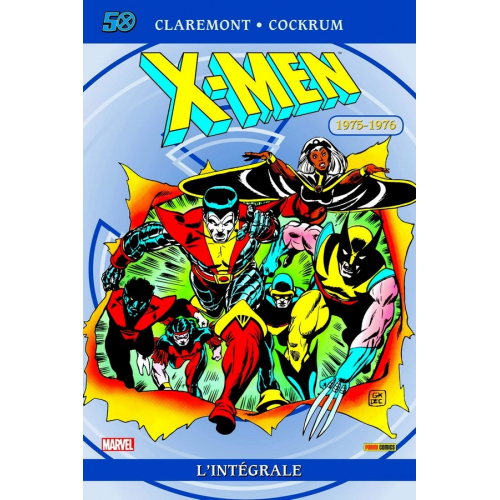 X-men intégrale 1975-1976 ED 50 ANS (VF)