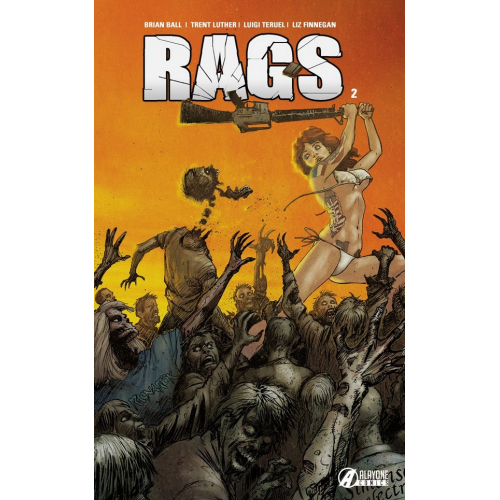 RAGS tome 2 EDITION EXCLUSIVE ORIGINAL COMICS 150 ex (VF)