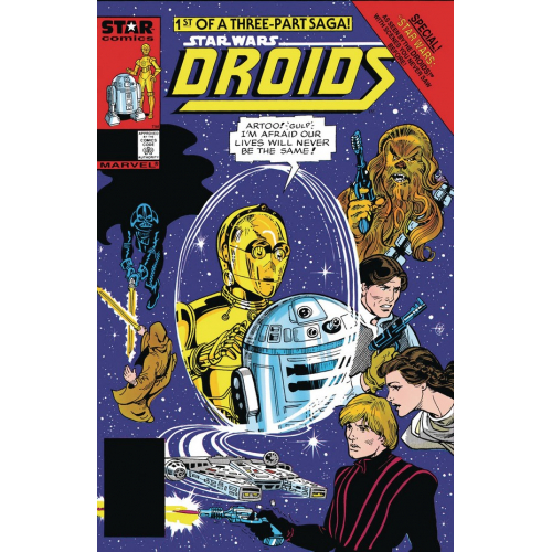 STAR WARS ACCORDING TO DROIDS 1 (VO)