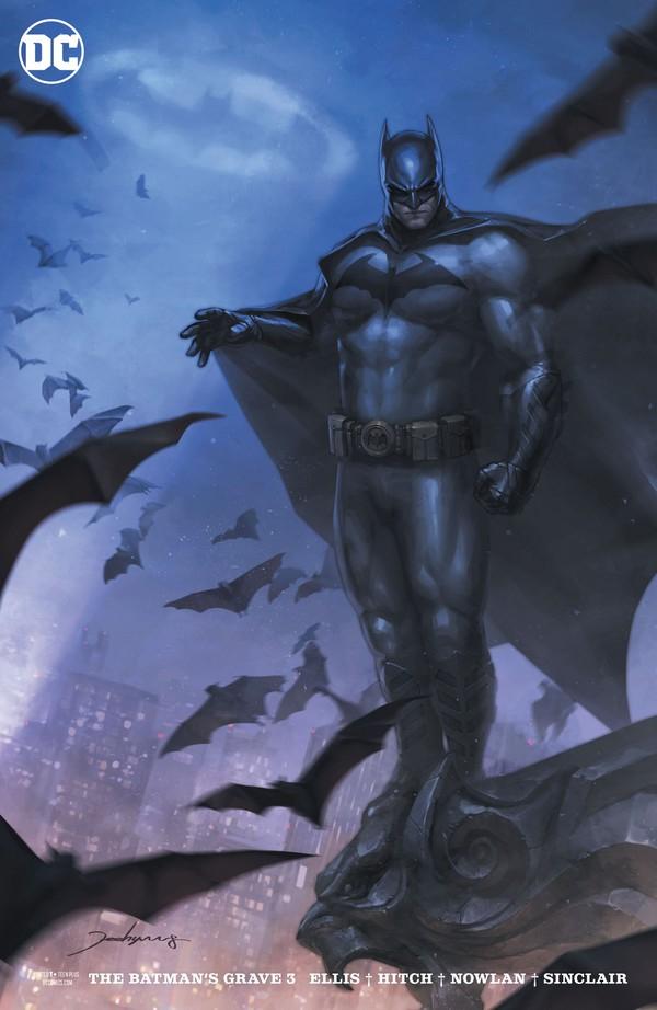 BATMANS GRAVE 3 (OF 12) VAR ED (VO)