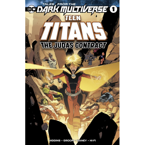 TALES FROM THE DARK MULTIVERSE THE JUDAS CONTRACT 1 (VO)