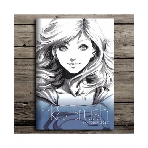 ARTGERM INK&BRUSH INKTOBER 2017 Signé (VO)