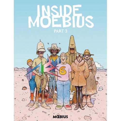 MOEBIUS LIBRARY INSIDE MOEBIUS HC VOL 03 (VO)