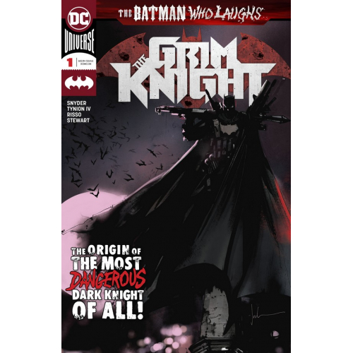 BATMAN WHO LAUGHS GRIM KNIGHT 1 signé par JAMES TYNION IV (VO)
