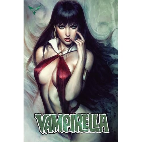 VAMPIRELLA 6 50 COPY ARTGERM GREEN FOIL INCV (VO)