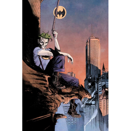 BATMAN: CURSE OF THE WHITE KNIGHT 8 VARIANT (VO) SEAN MURPHY DC BLACK LABEL