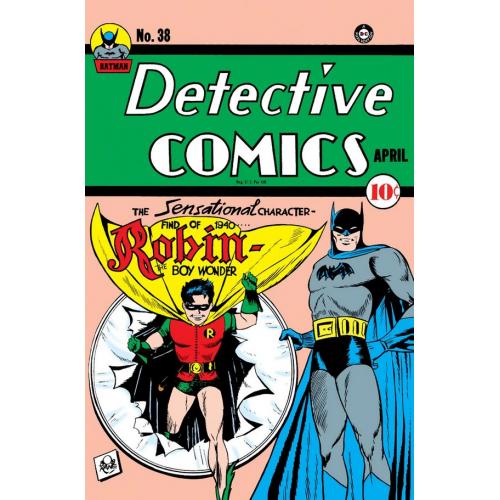 DETECTIVE COMICS 38 FACSIMILE EDITION (VO)