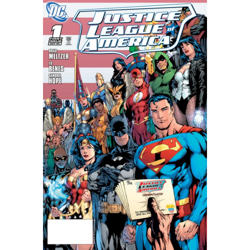 DOLLAR COMICS: JUSTICE LEAGUE OF AMERICA 1 (2006) (VO)