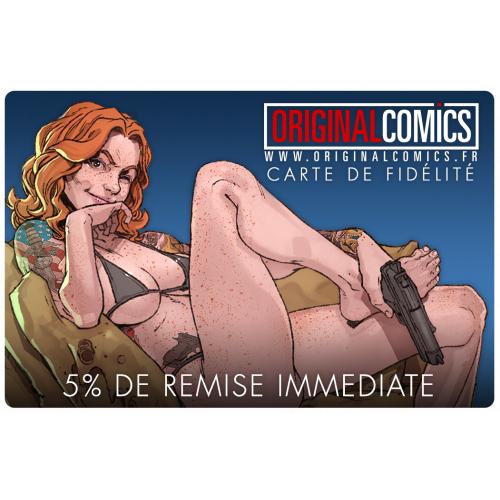 Carte de Fidélité Original Comics