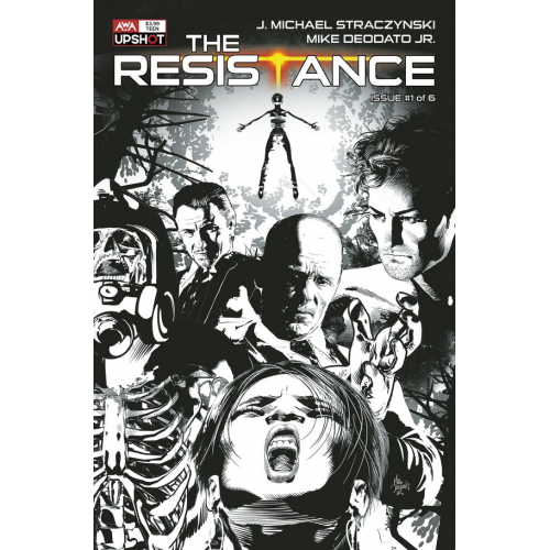 THE RESISTANCE 1 (VO) J. Michael Straczynski - Mike Deodato - COVER B