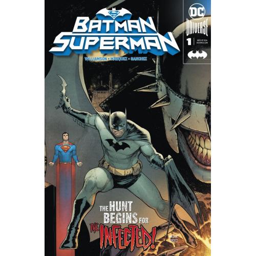 DF BATMAN SUPERMAN 1 CONNECTING A SGN WILLIAMSON (VO) Signé par Williamson