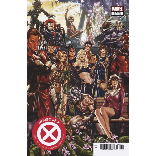 HOUSE OF X 1 (VO) Signé par Joe Quesada