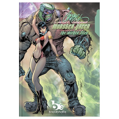 Monster Green - The Wicked Files - Artbook - J. Scott Campbell (2009)