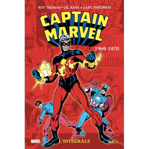 CAPTAIN MARVEL : L'INTÉGRALE 1969-1970 (VF)