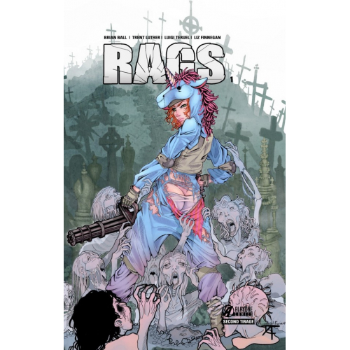 RAGS tome 1 Bloody Edition (VF) Second tirage