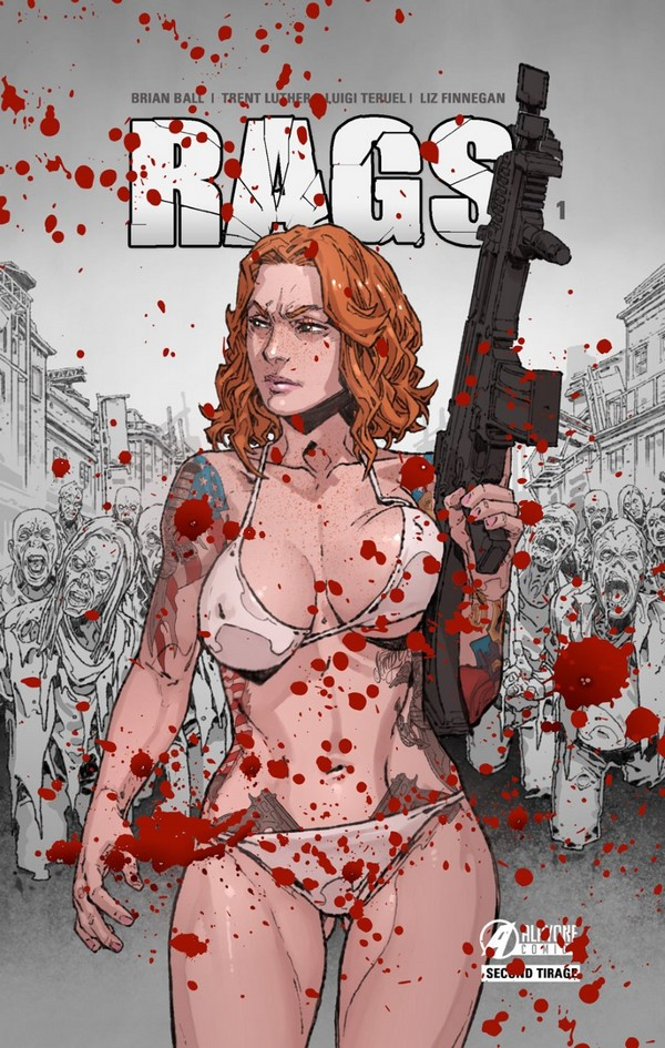 RAGS tome 1 Bloody Edition (VF)