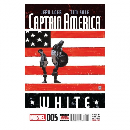 Captain America White 4