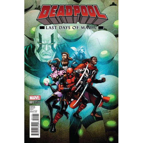 Deadpool : Last Days of Magic 1 LIM VAR (VO)