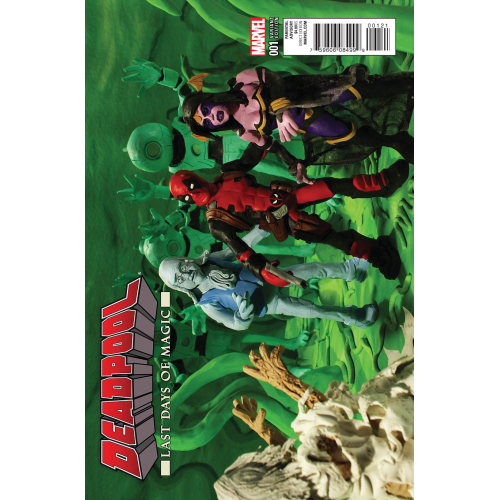 Deadpool : Last Days of Magic 1 MR OZ VAR (VO)